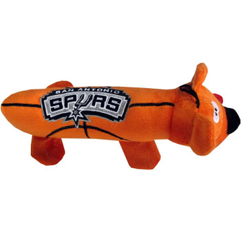 San Antonio Spurs Plush Tube Pet Toy