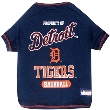 Detroit Tigers Pet T-Shirt - PFTIG4014-0001