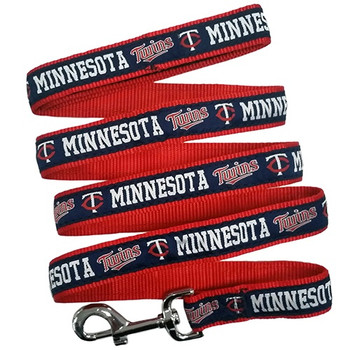 Minnesota Twins Blue Pet Collar by Pets First