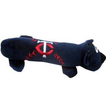 Minnesota Twins Plush Tube Pet Toy