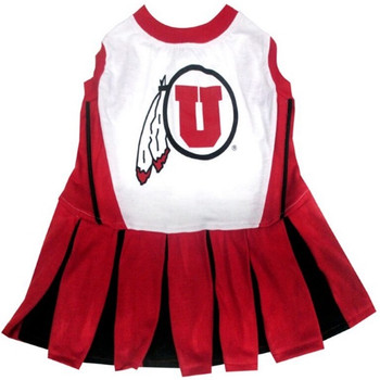Utah Utes Cheerleader Pet Dress