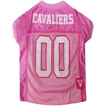 Virginia Cavaliers Pink Pet Jersey - Small