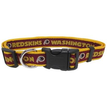 Washington Redskins Pet Collar - PFWAS3036-0001