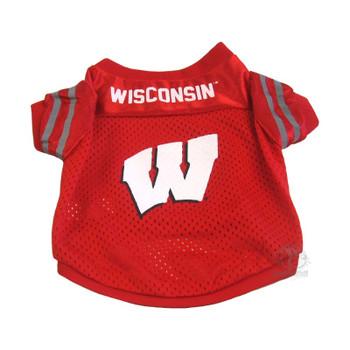 Wisconsin Badgers Collegiate Pet Jersey