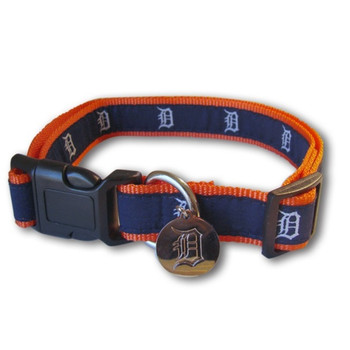 Detroit Tigers Alternate Style Pet Collar