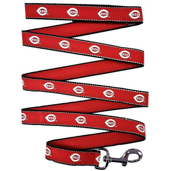 Cincinnati Reds Reflective Pet Leash - sp1-042-1