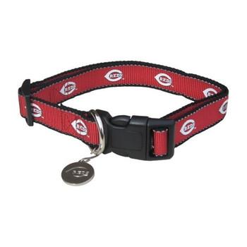 Cincinnati Reds Reflective Pet Collar - SP1-044-0001