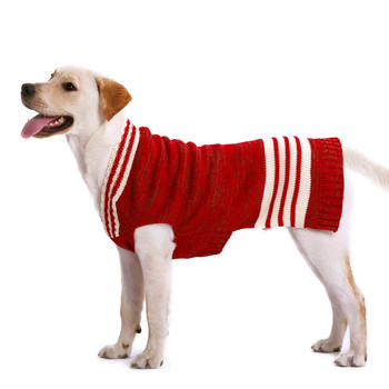 Metro Red Dog Sweater