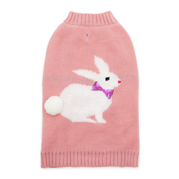 Bunny Dog Sweater - Pink