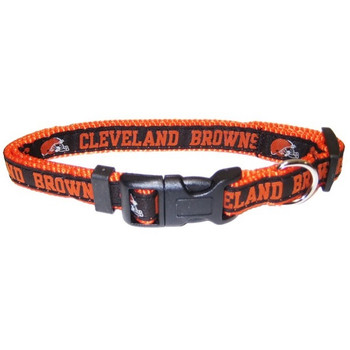 Cleveland Browns Pet Collar - PFCLE3036-0001