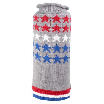 Stars Patriotic Dog Sweater