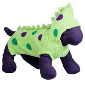 Dino Hoodie Dog Sweater