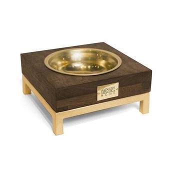 Designer Small Rommel Pet Bowl - Gold