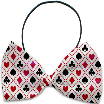 Deck of Cards Pet Dog Bow Tie