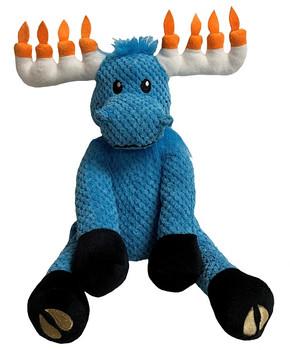 Hanukkah Moose Floppy Dog Toy - 2 Sizes