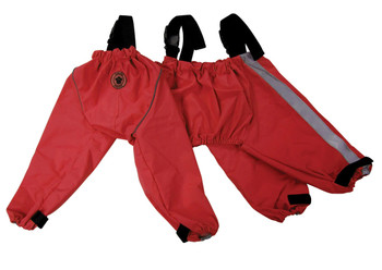 Bodyguard - Protective All-Weather Dog Pants - Red