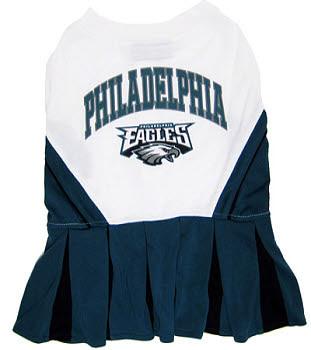 Philadelphia Eagles Cheerleader Dog Dress