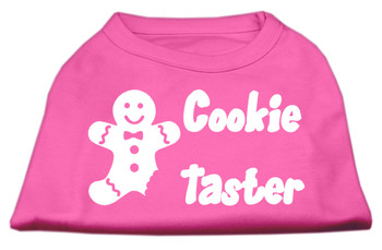 Cookie Taster Screen Print Shirts - Bright Pink