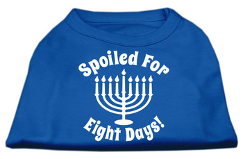 Spoiled for 8 Days Screen Print Shirt - Blue