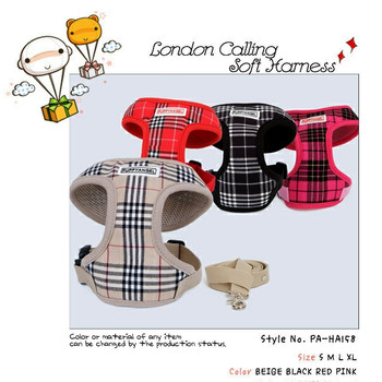 London Calling Soft Dog Harness
