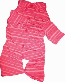 Candy Cane Stripe Designer Dog Pajamas
