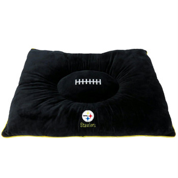 Pittsburgh Steelers Pet Pillow Bed