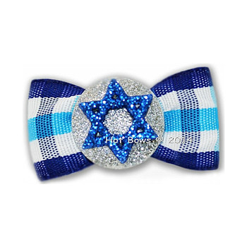 Dog Bow Barrette  - Shalom