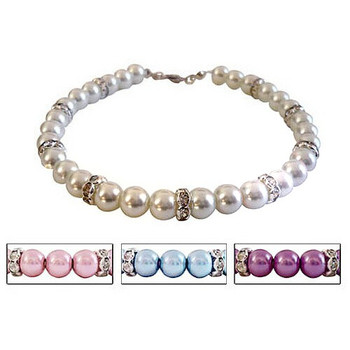 Luxe Pearl Single Strand Pet Dog Necklace