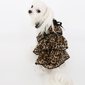 Puppy Angel Kay Luxury Leopard Cancan Dress - Yellow