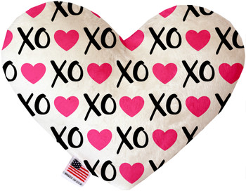 Pink Xoxo Heart Dog Toy, 2 Sizes