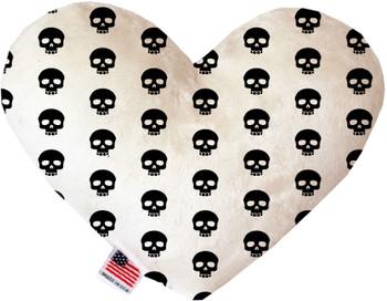 Skulls Heart Dog Toy, 2 Sizes