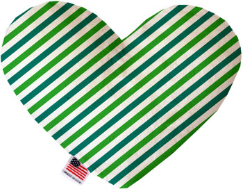 Lucky Stripes Heart Dog Toy, 2 Sizes