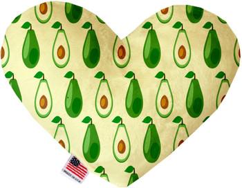 Avocado Paradise Heart Dog Toy, 2 Sizes