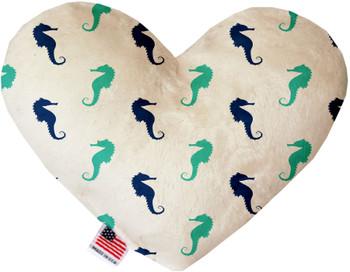 Seahorses Heart Dog Toy, 2 Sizes