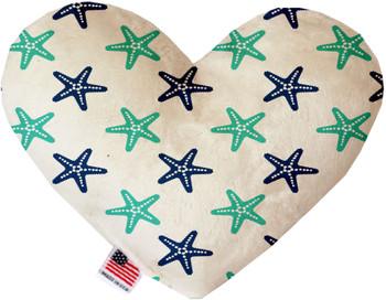 Starfish Heart Dog Toy, 2 Sizes