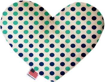 Aquatic Dots Heart Dog Toy, 2 Sizes