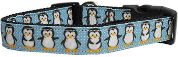 Penguins Nylon Dog & Cat Collar