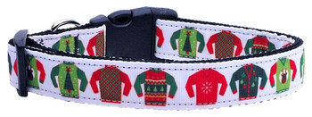 Ugly Sweater Nylon Dog & Cat Collar