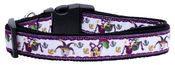 Mardi Gras Nylon Dog & Cat Collar