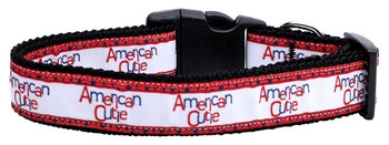 American Cutie Nylon Dog & Cat Collar