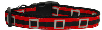 Santa's Belt Nylon Dog Collar - Small
