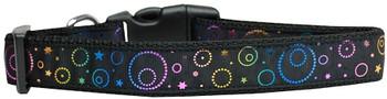 Galactic Shimmer Nylon Dog & Cat Collar