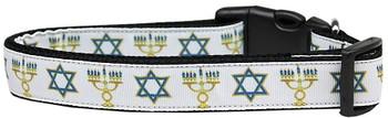 Jewish Traditions Nylon Dog & Cat Collar