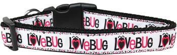 Love Bug Nylon Dog & Cat Collar