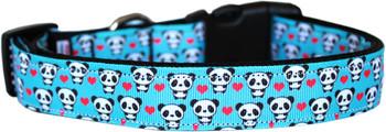 Panda Love Nylon Dog & Cat Collar