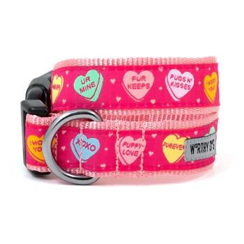 Puppy Love Pet Dog Collar & Leash