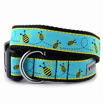 Busy Bee Pet Dog & Cat Collar & Optional Lead