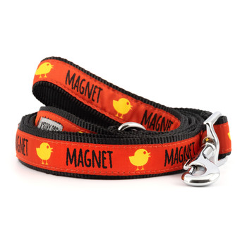 Chick Magnet Pet Dog Collar & Lead