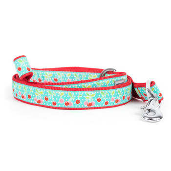Cherries Pet Dog Collar & Optional Lead