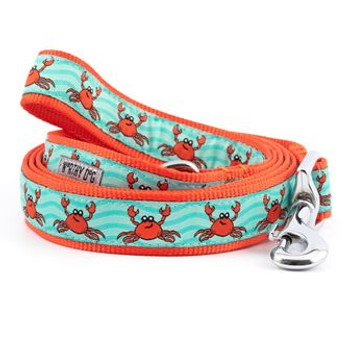 Crabs Pet Dog Collar & Lead
